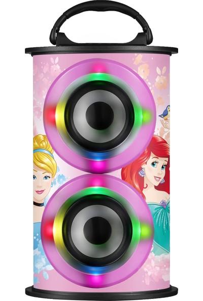 Volkano Disney Prensesler Bluetooth Hoparlör Lisanslı DY-11501-PR