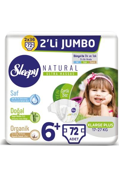 Sleepy Natural Bebek Bezi Ikili Jumbo 6+ Numara 36X2 (72 Adet)