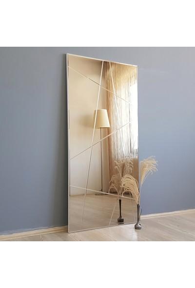 Neostill-Bronz Ayna Dekoratif Desenli Duvar Salon Konsol A309-Y