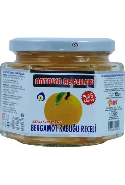 Antalya Reçelcisi Bergamot Kabuğu Reçeli 450 gr