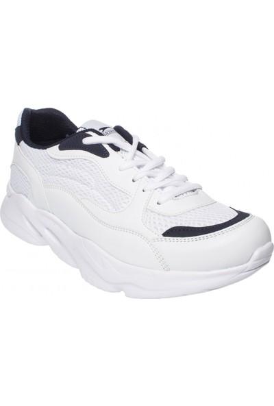 Slazenger 19Re097 Valencia Beyaz Erkek Spor Ayakkabı