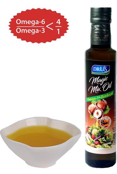 Dr.Us Magic Mix Oil Omega-3 + Zerdeçal Fındık Yağı 250 ml