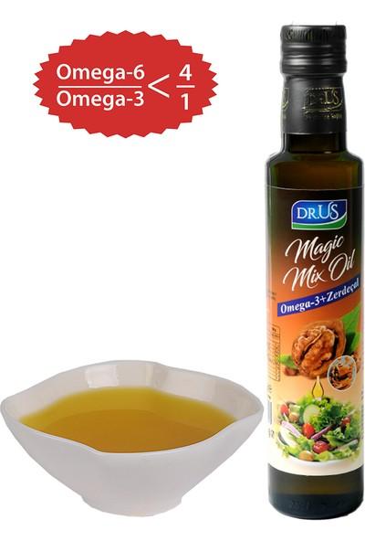 Dr.Us Magic Mix Oil Omega-3 + Zerdeçal Ceviz Yağı 250 ml