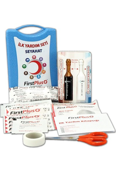 Firstplus Fp 06.102 Seyahat Ilk Yardım Seti