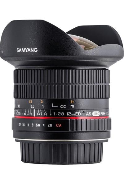 Samyang 12MM F/2.8 Ed As If Ncs Umc Full Frame Fisheye Lens (Sony E)