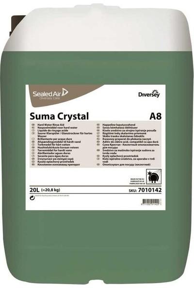 Suma Crystal A8 Sanayi Tipi Bulaşık Makina Parlatıcısı 20 lt