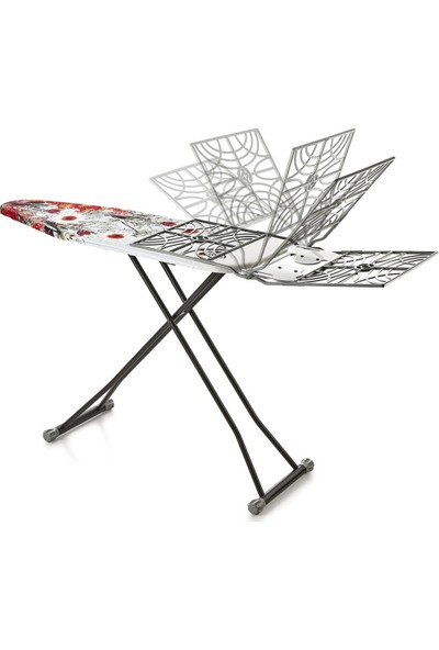 Doğrular Tomris Sepetli Ütü Masası - Siyah