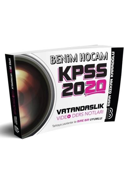 Benim Hocam Yayınları 2020 KPSS Vatandaşlık Video Ders Notları