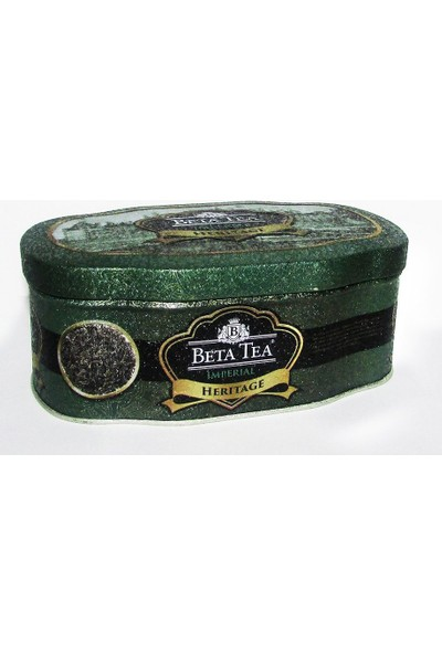 Beta Heritage Yeşil Metal Ambalaj 75 gr Çin Çayı