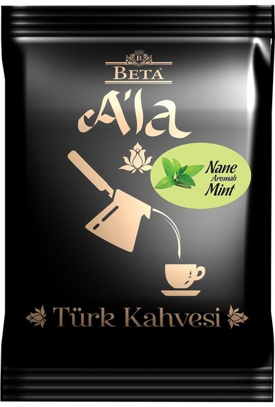 Beta A'la Nane Aromalı Türk Kahvesi 100 GR