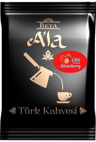 Beta A'la Çilek Aromalı Türk Kahvesi 100 GR