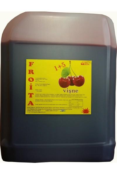 Froita 1+5 Konsantre Meyve Aromalı İçecek 5 Kg Vişne