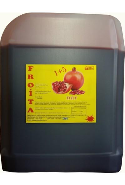 Froita 1+5 Konsantre Meyve Aromalı İçecek 5 Kg Limon + Nar 2'li