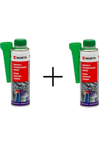 Würth 2'li Benzin Enjektör Temizleme Seti