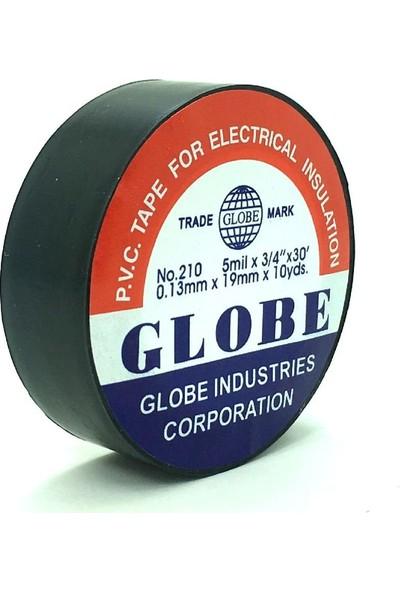 Globe Siyah Renk Elektrik Izole Bant 5'li Paket