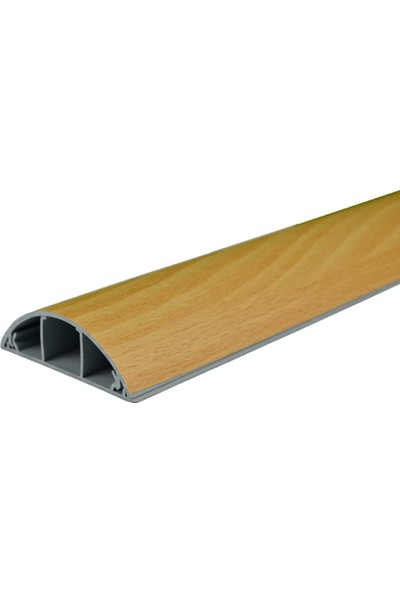 A Plus Elektrik 70x20 mm Balık Sırtı Güçlü Yapışkan Bantlı Lamine Kaplamalı Kayın 25x2m=50m Kablo Kanalı