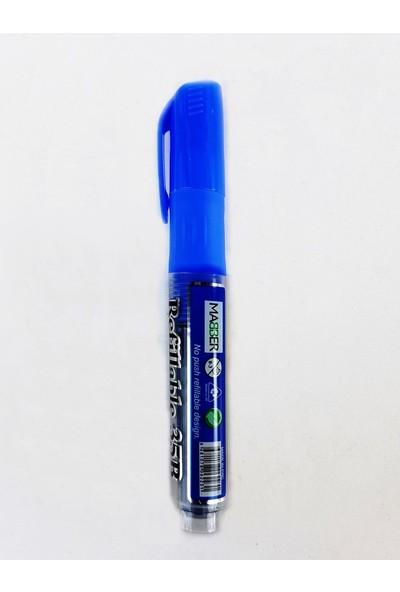 Maber Kartuşlu Beyaz Tahta Kalemi 12'li -Mavi
