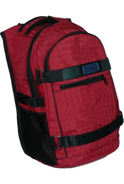 Modell Unisex Sırt Çantası 310 Yarasa Model Kırmızı