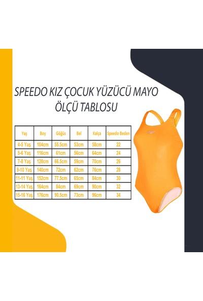 Speedo Essential Frill 1Pce If Co Çocuk Yüzücü Mayo