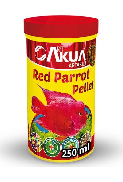Art Akua Red Parrot Pellet Balık Yemi 250 ml (100 g)