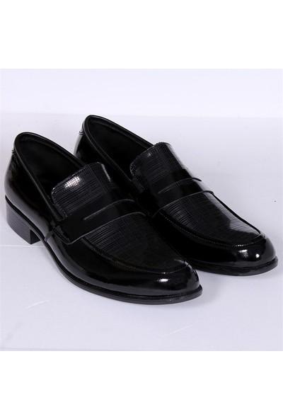 Zeki Rok Bağsız Kareli Klasik Erkek Ayakkabı