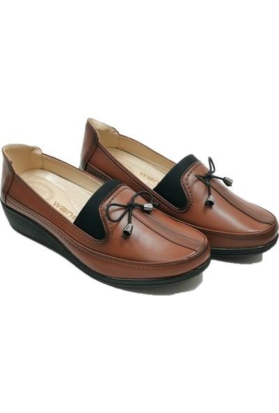 Wanetti 1333 StreçliBıyıklı Kadın Ayakkabı