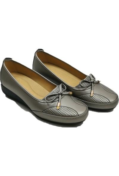 Wanetti 473 FiyonkluBıyıklı Kadın Ayakkabı