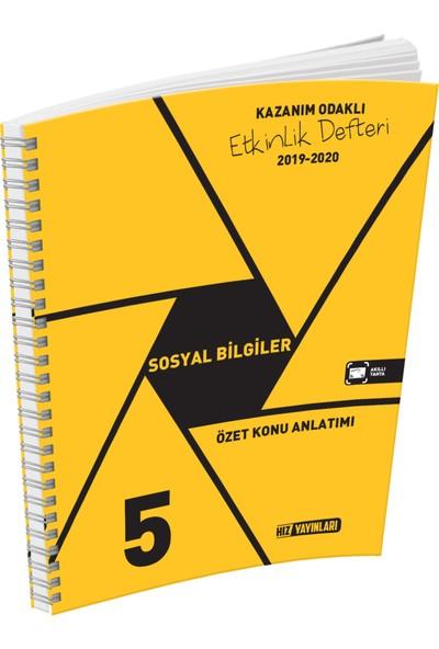 Hız Yayınları 5. Sınıf Sosyal Bilgiler Konu Anlatımlı Etkinlik Kitabı