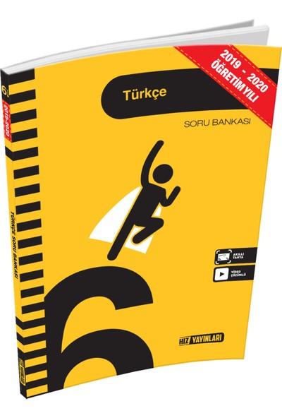 Hız Yayınları 6.Sınıf Türkçe Soru Bankası