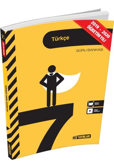 Hız Yayınları 7. Sınıf Türkçe Soru Bankası