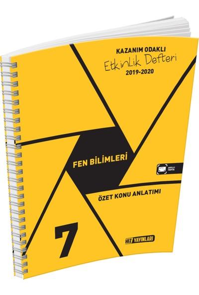 Hız Yayınları 7. Sınıf Fen Bilimleri Özet Konu Anlatımlı Etkinlik Kitabı