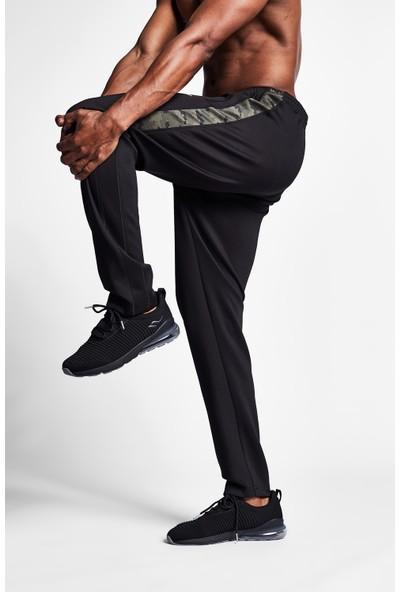 Lescon 19N-1131 Siyah Haki Erkek Eşofman Altı