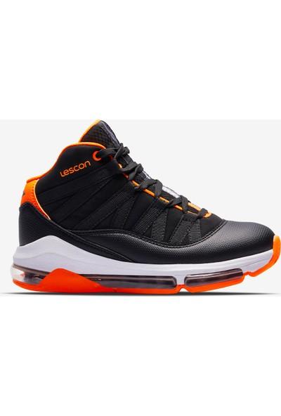 Lescon Bounce Siyah Çocuk Basketbol Ayakkabısı
