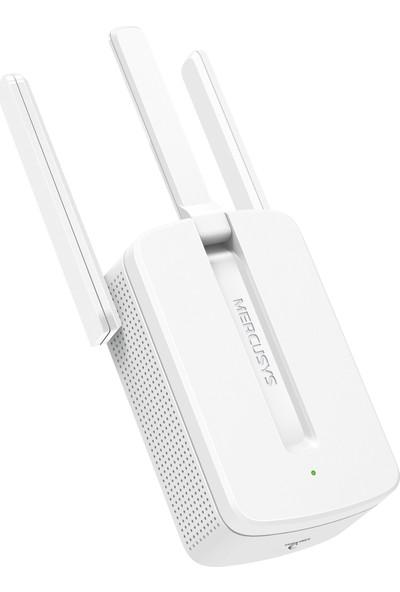 Mercusys Wifi Pro Sinyal Güçlendirici 300 Mbps -Sinyal Yakınlaştırıcı-Wifi 3 Antenli signal Menzil Genişletici-MW300RE-Türkçe versiyon