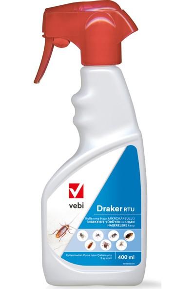 VEBI Draker RTU (Kullanıma Hazır) Haşere Öldürücü 400 ml