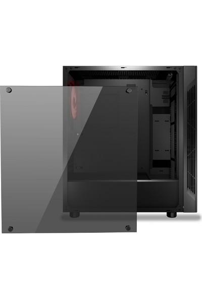 MSI MAG VAMPIRIC 010M Temperli Cam 1x Fan RGB ATX Gaming Bilgisayar Kasası