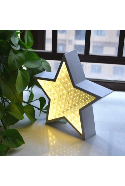 Love Mirror Star-Shaped Infinity Depth LED Mirror