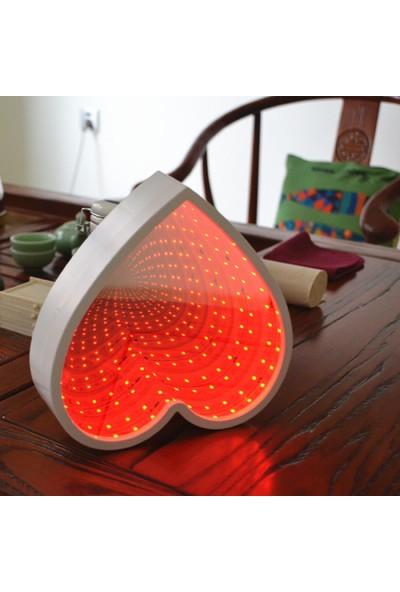 Love Mirror Heart-Shaped Infinity Depth LED Mirror