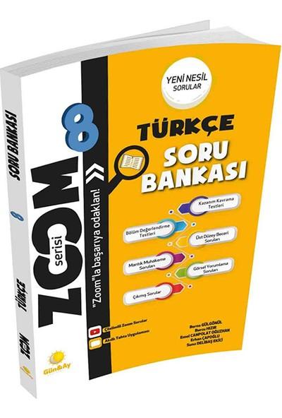 Günay Yayınları 8.Sınıf Zoom Serisi Soru Bankası Türkçe