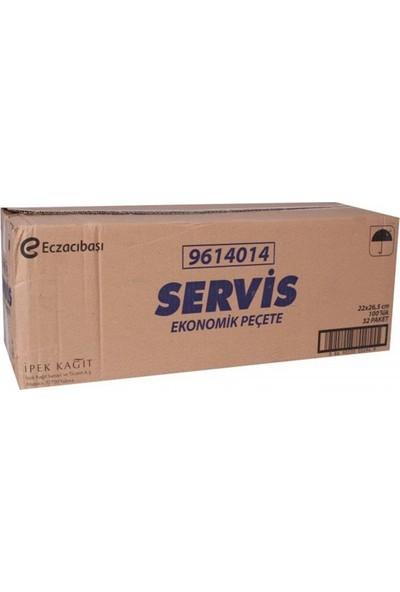 Servis Peçete 32 Paket 100 Adet