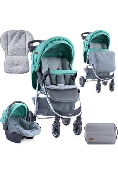 Lorelli Daisy Seyehat Sistem Bebek Arabası - Green&grey