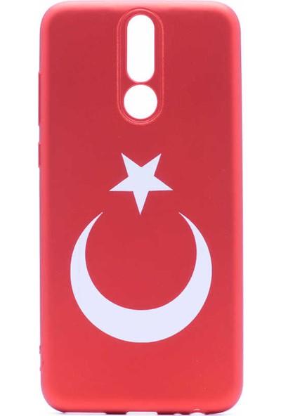 Vendas Huawei Mate 10 Lite Türk Bayrağı Silikon Kılıf