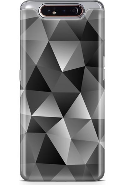 Melefoni Samsung Galaxy A80 Kılıf Triangle Serisi Mckenna