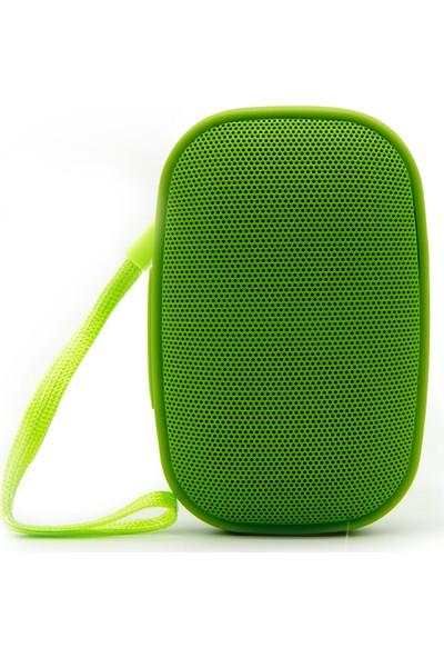Syrox S13 Suya Dayanıklı Bluetooth Hoparlör - Yeşil