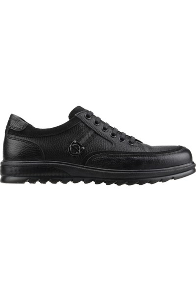 Bigboster 01 Günlük Termo Taban Erkek Bot Ayakkabı Siyah