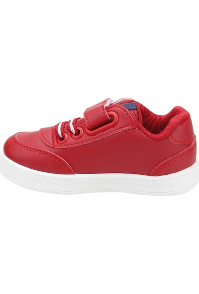 U.S. Polo Assn Cameron Kız/Erkek Çocuk Spor Ayakkabı Kırmızı