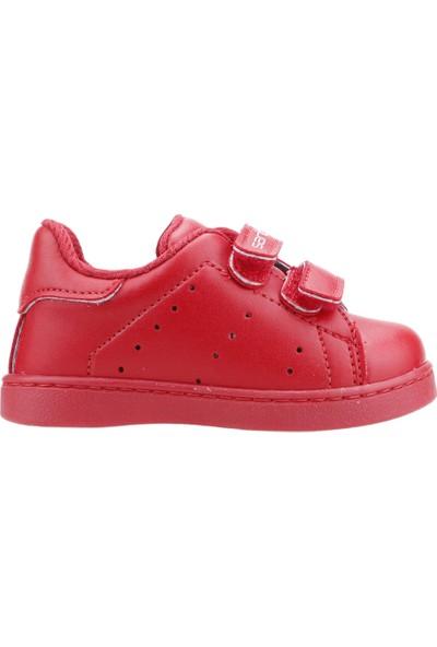 Sanbe 128P5401 Günlük İlkadım Erkek/Kız Çocuk Spor Ayakkabı Kırmızı