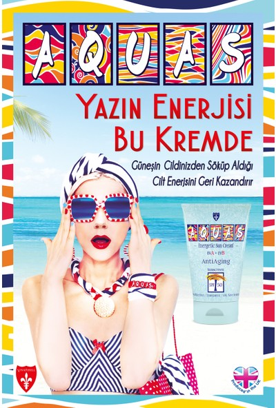 Aquas AntiAging Güneş Kremi Spf 50 150 ml