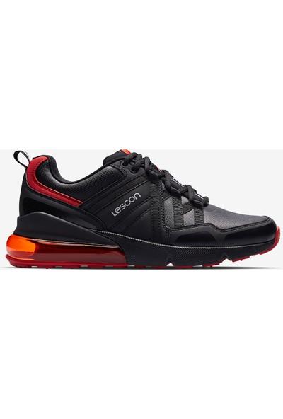 Lescon Airtube Nitro Siyah Erkek Spor Ayakkabı