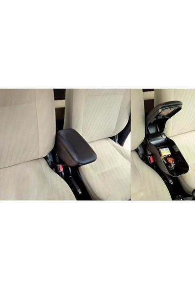 Autoen Renault Clio 3 2010 Model Geniş Tip Sürgülü Kolçak Kol Dayama Delme Yok Siyah